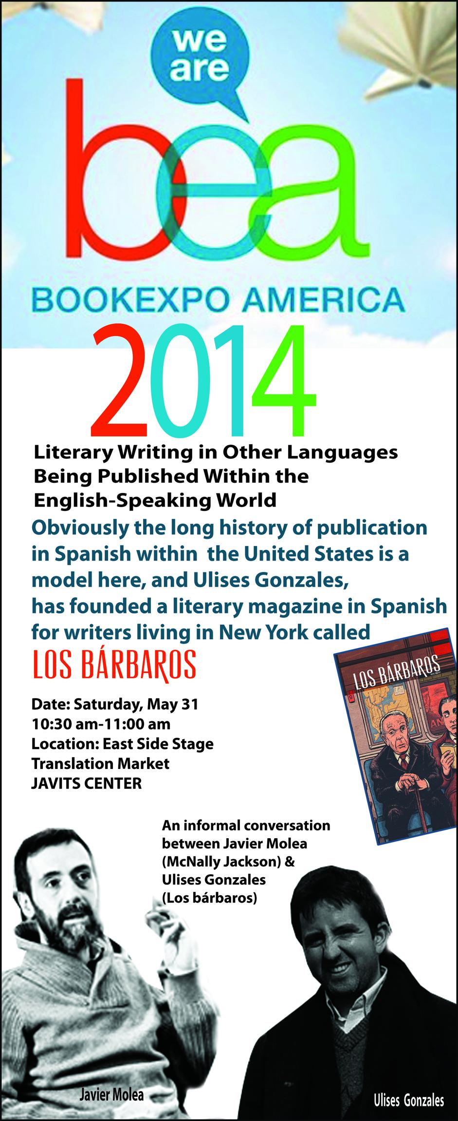 Los bárbaros en Book Expo America (BEA) 2014